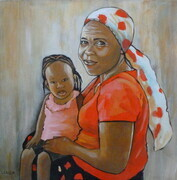 Grandmother and Child (Zimbabwe)